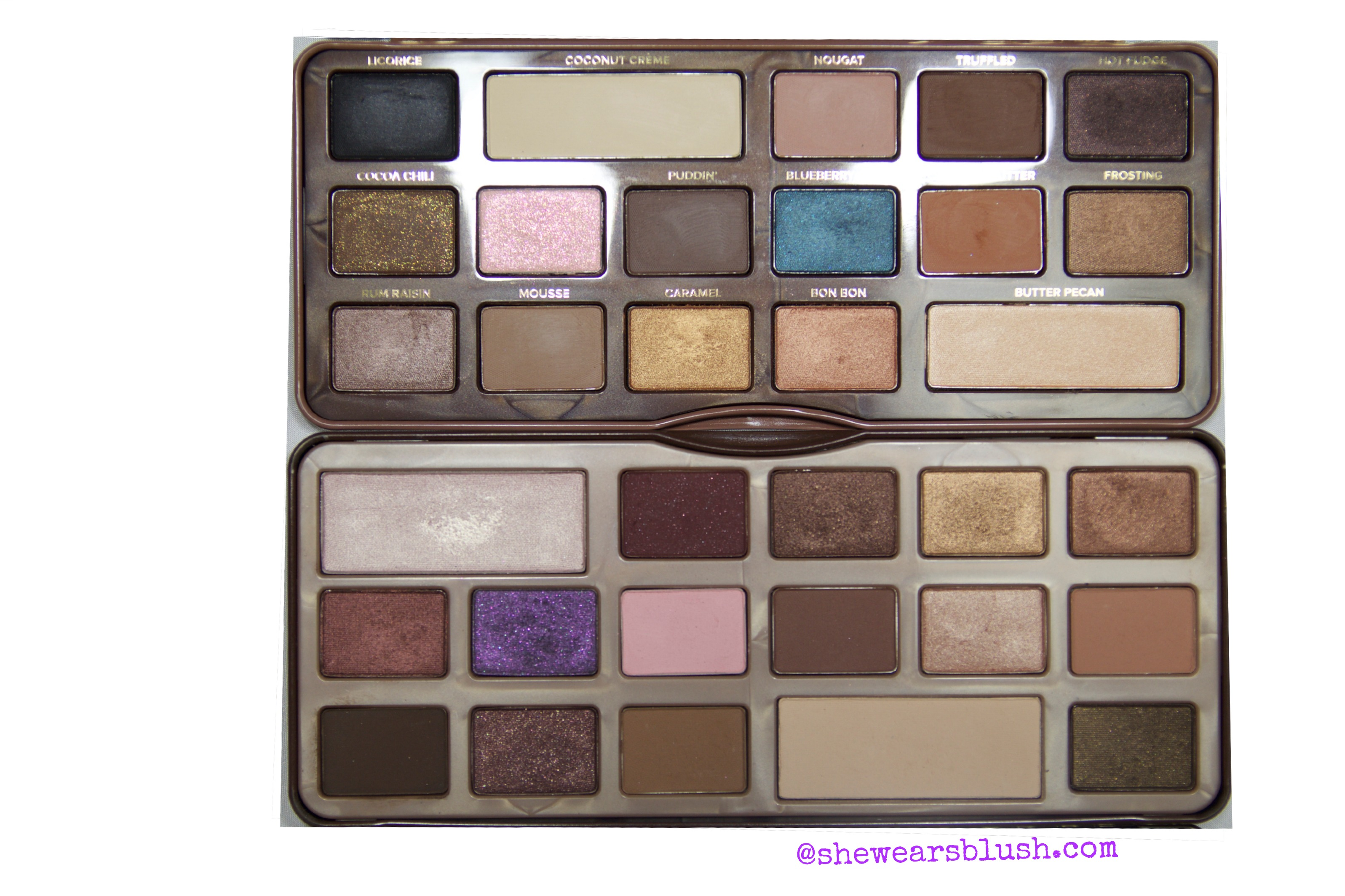 Too Faced Semi-Sweet Chocolate Bar Palette |Review